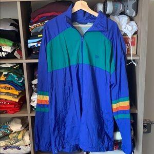 USA Olympic Vintage Zip Up Windbreaker